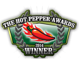 2014 Hot Pepper Award Winner